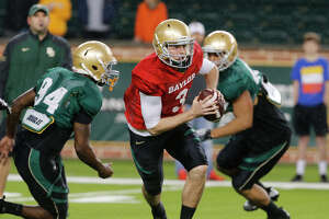 Heralded freshman Stidham claims Baylor's backup QB job - Photo