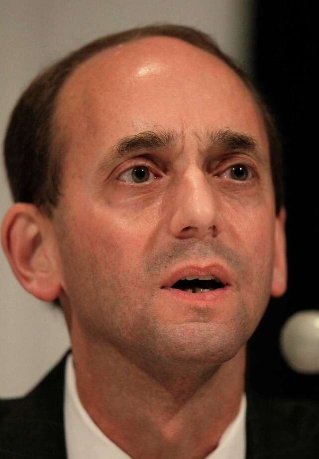 In this Oct. 15, 2010 photo, Republican Missouri Auditor candidate Tom Schweich answers a question during a debate sponsored by the Missouri Press Association in Lake Ozark, Mo. David Humphreys released a signed affidavit Thursday, March, 19 2015, saying GOP Chairman John Hancock told him in November that Schweich was Jewish. It's the first time anyone has publicly attested to hearing such comments.  Schweich fatally shot himself Feb. 26, a month after declaring his candidacy for the Republican nomination for governor. (AP Photo/Charlie Riedel, File) Photo: Charlie Riedel, STF / AP