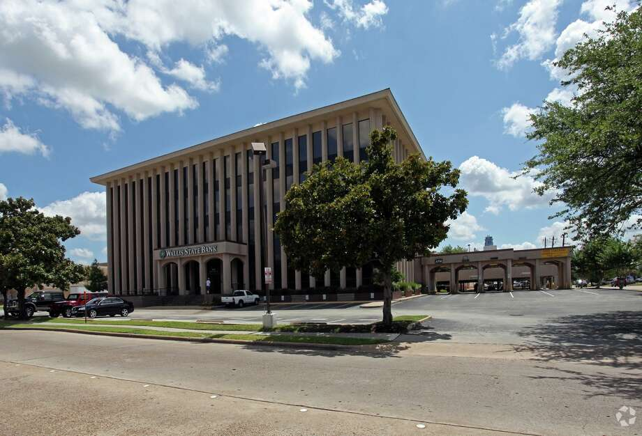 The Texas Gulf Bank name will replace signs for Wallis State Bank at 900 Town and Country Lane. The independent community bank will occupy nearly 9,000 square feet on the first and second floors of the building in April.