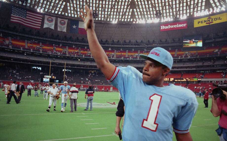 PHOTOS: How Houston teams have done at home during the NFL playoffsWarren Moon only won one playoff game at home during his time with the Houston Oilers.Browse through the photos to see how Houston teams have done at home during the NFL playoffs. Photo: Dave Einsel, © Houston Chronicle / Houston Chronicle