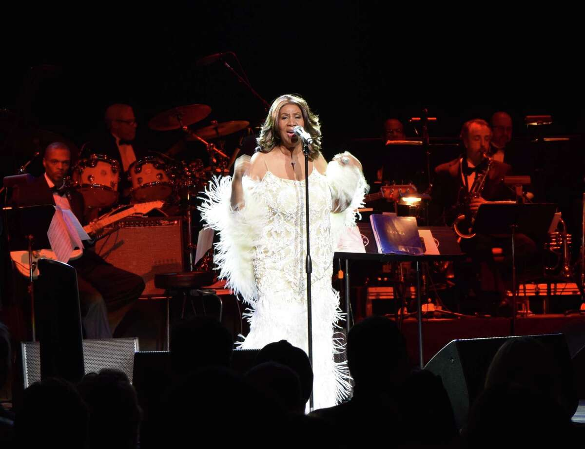 The queen of soul, Aretha Franklin, performed at Webster Bank Arena in Bridgeport on March 20, 2015. Were you SEEN at the concert?