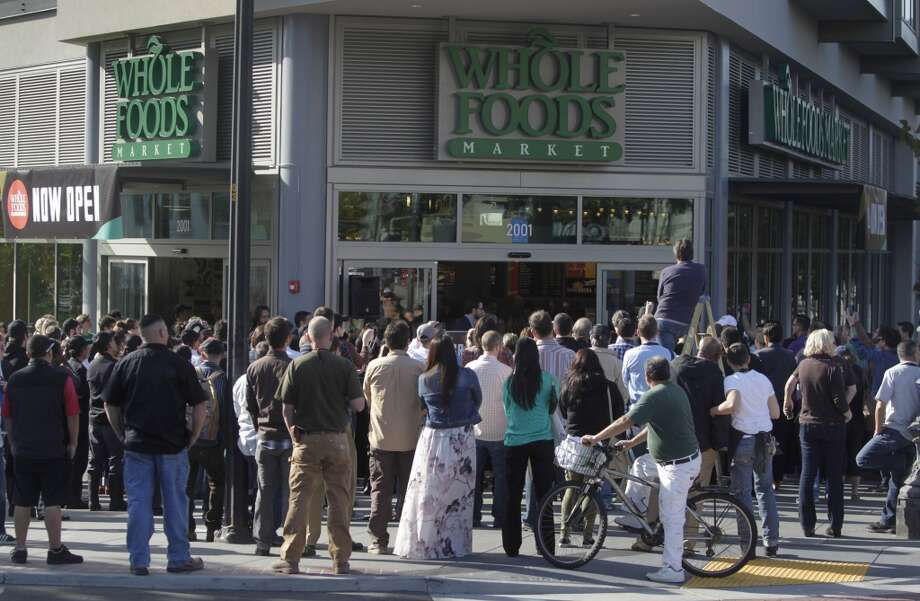 When Whole Foods opens in your neighborhood and the cheap produce markets disappear. Photo: Paul Chinn, The Chronicle