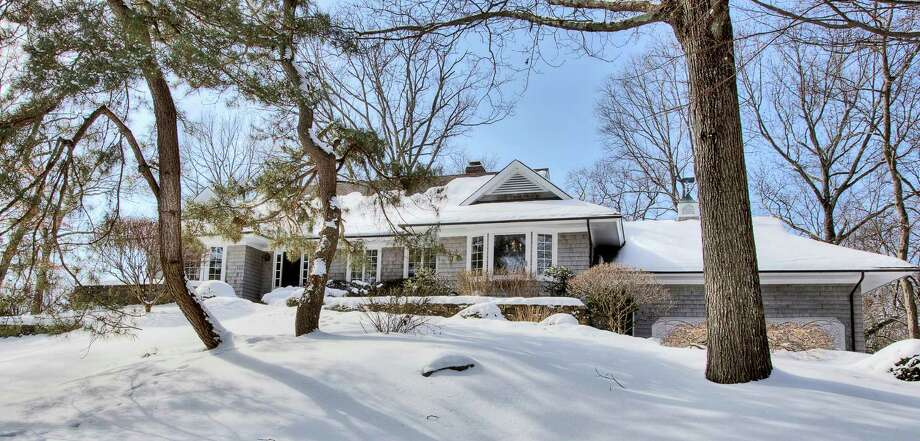 The property at 7 Homewood Lane is on the market for $2,795,000. Photo: Contributed Photo / Darien News