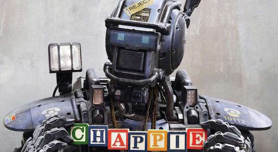"The new movie, ""Chappie,"" chronicles the impact of artificial intelligence and robots in a future dystopian era. Photo: Contributed Photo / Westport News"