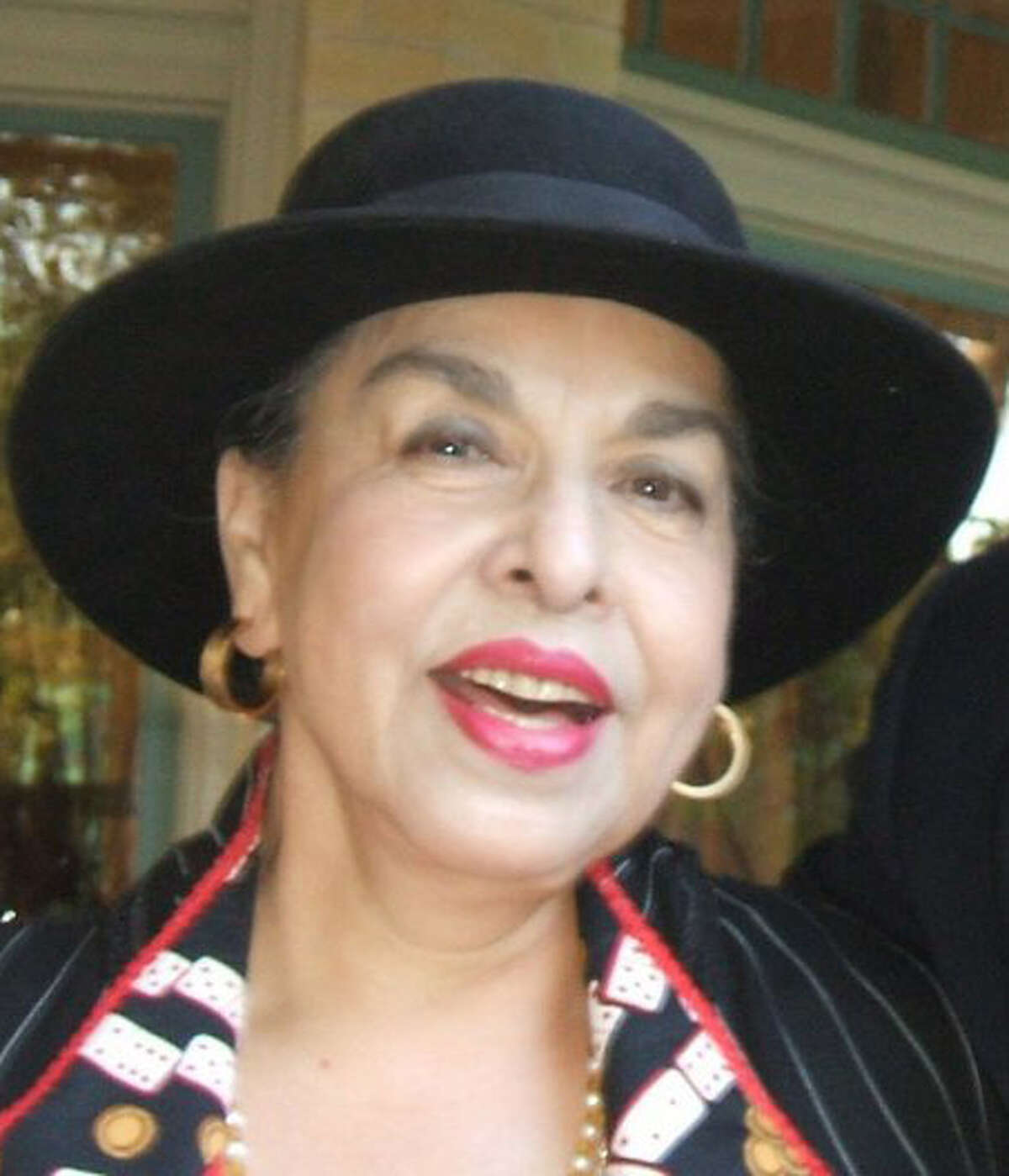 Joyce Peters, former chair of the Bexar County Democratic Party, at a fundraiser on Oct. 4, 2006