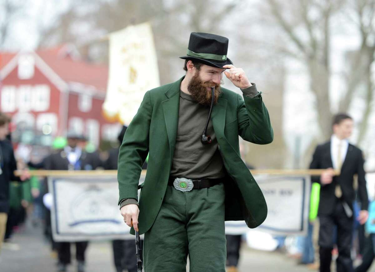 Scenes from the annual St. Patrick's Day Parade through downtown Milford, Conn. Saturday, Mar. 21, 2015.