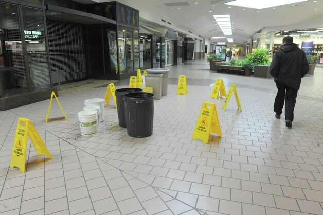 Light foot traffic and many empty retail spaces at the Rotterdam Square Mall on Wednesday March 4, 2015 in Rotterdam, N.Y.  (Michael P. Farrell/Times Union) Photo: Michael P. Farrell / 00030833A