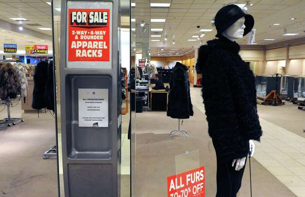 Macy's an anchor at the Rotterdam Square Mall going out of buisness sale on Wednesday March 4, 2015 in Rotterdam, N.Y.  (Michael P. Farrell/Times Union) Photo: Michael P. Farrell / 00030833A