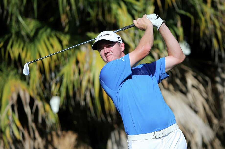 DORAL, FL - MARCH 06:  Jimmy Walker plays a shot on the 13th hole during the second round of the World Golf Championships-Cadillac Championship at Trump National Doral Blue Monster Course on March 6, 2015 in Doral, Florida.  (Photo by Sam Greenwood/Getty Images) Photo: Sam Greenwood, Staff / Getty Images / 2015 Getty Images
