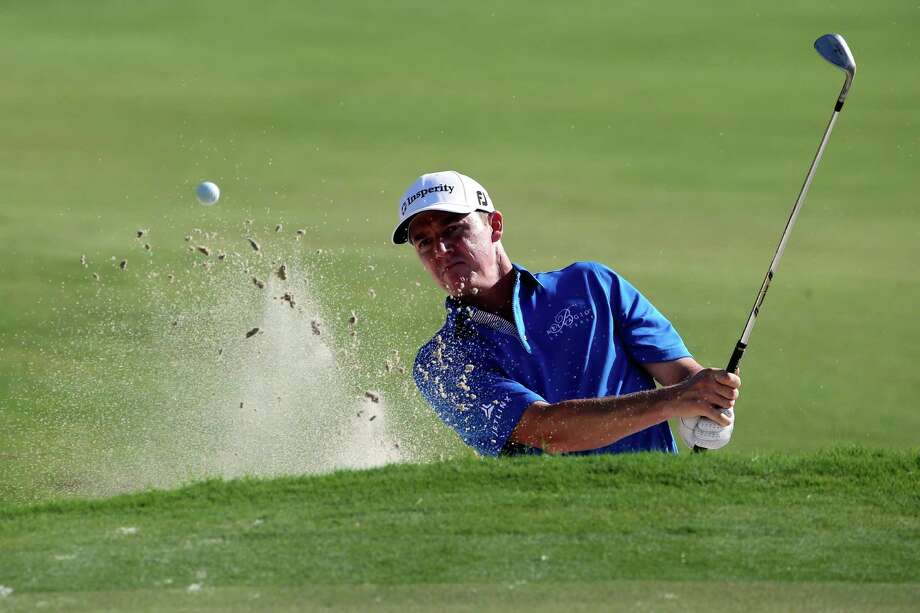 Jimmy Walker, a Boerne reside,t plays a shot on the 12th hole during the second round of the World Golf Championships-Cadillac Championship at Doral, Fla., on March 6, 2015. Photo: Sam Greenwood /Getty Images / 2015 Getty Images