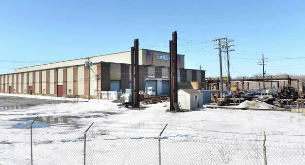 STS Steel plant at the future casino site Thursday March 12, 2015 in Schenectady, NY. STS Steel owns it's own building and therefore pays property taxes, unlike the rest of the casino property. (John Carl D'Annibale / Times Union) Photo: John Carl D'Annibale / 00030980A