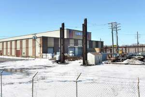STS Steel plant at the future casino site Thursday March 12, 2015 in Schenectady, NY. STS Steel owns it's own building and therefore pays property taxes, unlike the rest of the casino property. (John Carl D'Annibale / Times Union)
