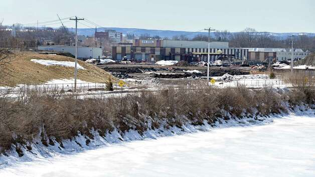 The future casino site on the banks of the Mohawk River Thursday March 12, 2015 in Schenectady, NY. When Galesi Group purchased the property in 2010, it negotiated a payment in lieu of taxes agreement with the Schenectady Metroplex Development Authority. (John Carl D'Annibale / Times Union) Photo: John Carl D'Annibale / 00030980A