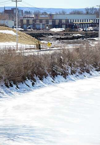 The future casino site on the banks of the Mohawk River Thursday March 12, 2015 in Schenectady, NY.  The property was purchased for $500,000, even though it was assessed by the city at $11.3 million. (John Carl D'Annibale / Times Union) Photo: John Carl D'Annibale / 00030980A