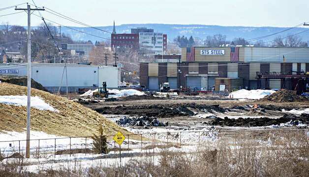 The future casino site on the banks of the Mohawk River Thursday March 12, 2015 in Schenectady, NY. Galesi Group has paid a $40,000 on the 53-plus acres as a payment in lieu of taxes every year since 2010. (John Carl D'Annibale / Times Union) Photo: John Carl D'Annibale / 00030980A