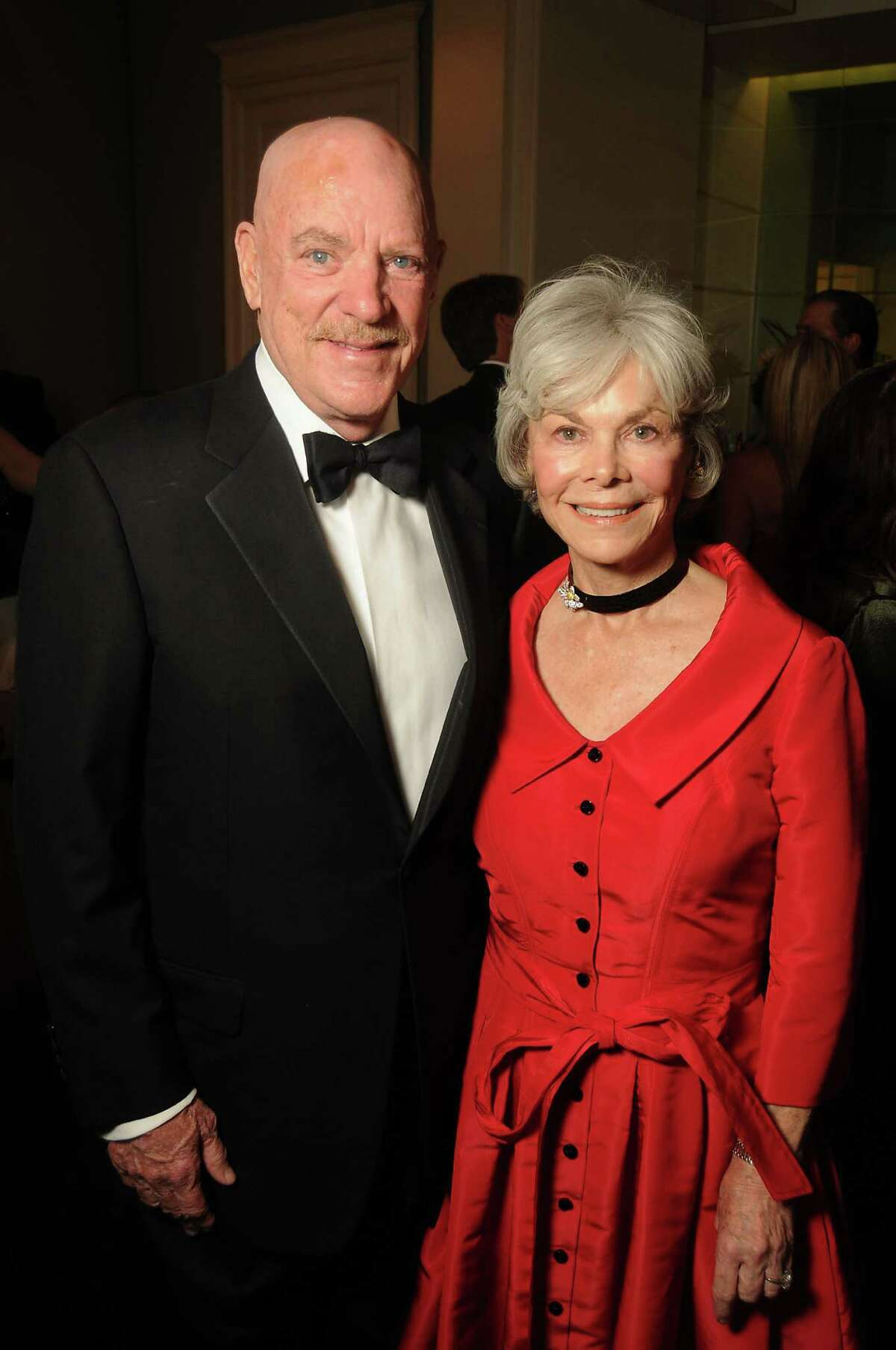 Honorees Bob and Janice McNair at UNICEF's 2nd Annual Audrey Hepburn Society Ball. Honorees Janice and Bob McNair at the Audrey Hepburn Society Ball at the Wortham Theater Tuesday Oct 14, 2014.(Dave Rossman photo)