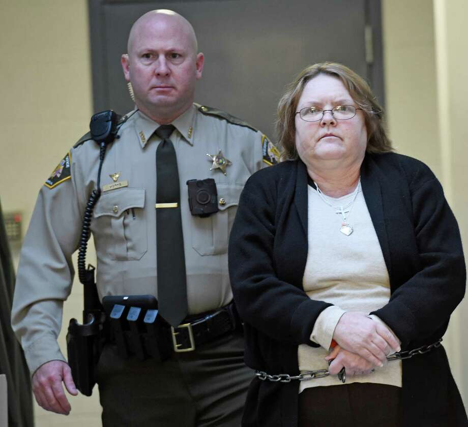 A jury convicted Joyce Hardin Garrard of capital murder in the running death of her 9-year-old granddaughter. On Monday, the punishment phase of the trial will begin in Gadsden, Ala. Photo: Eric T. Wright /Associated Press / The Gadsden Times