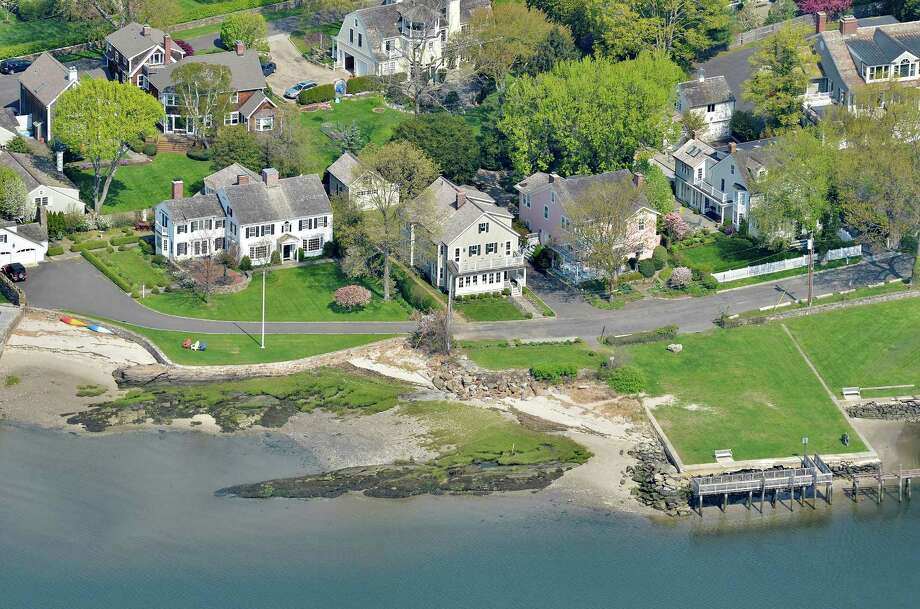 The property at 1100 Harbor Road is on the market for $3,785,000. Photo: Contributed Photo / Fairfield Citizen