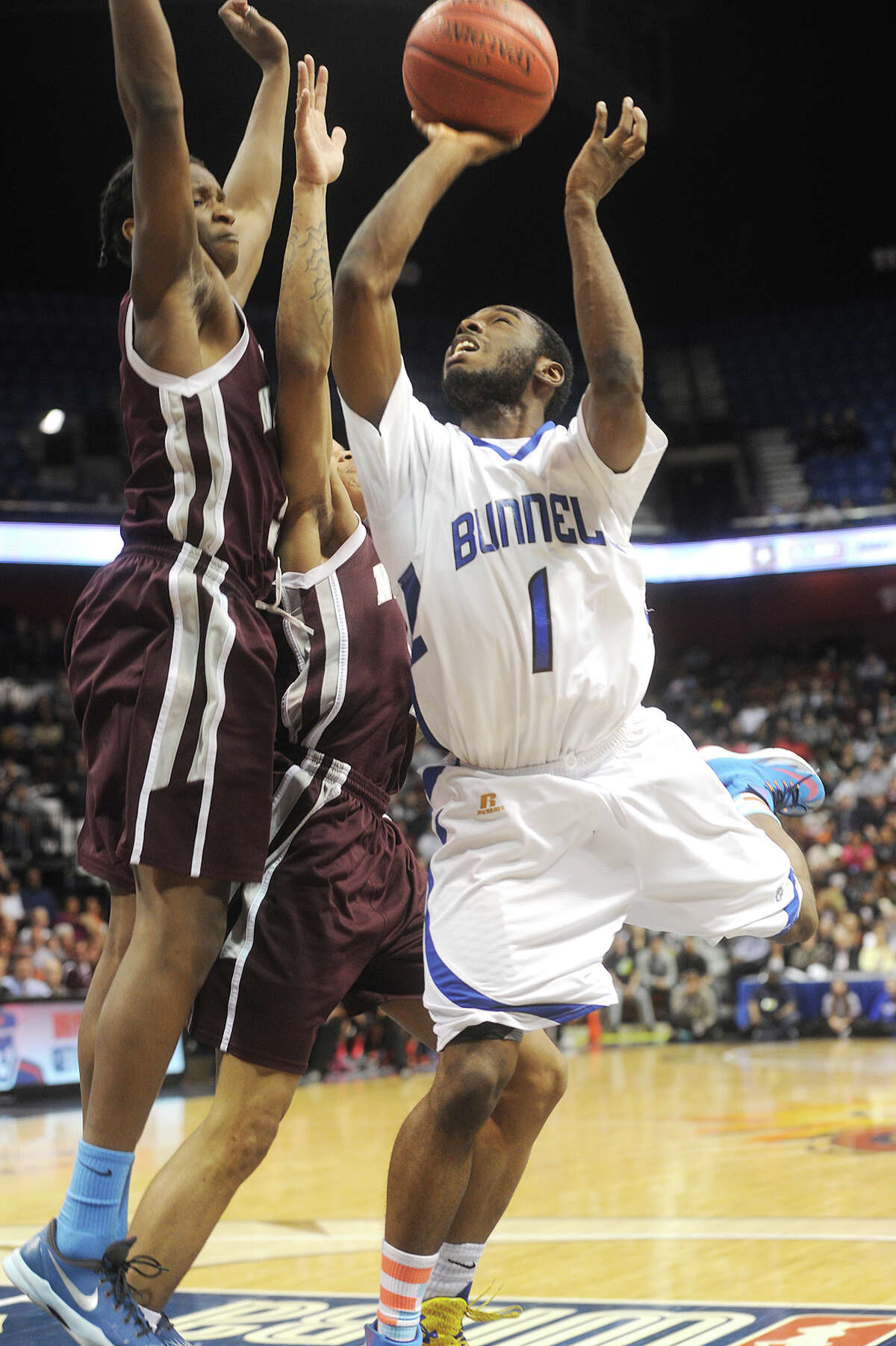 Bunnell: Senior Class L All-State guard Ryan Pittmanaveraged 16.3 points, 8.4 assists, 5.4 rebounds and 3.9 steals for the Class L and SWC champion Bulldogs.