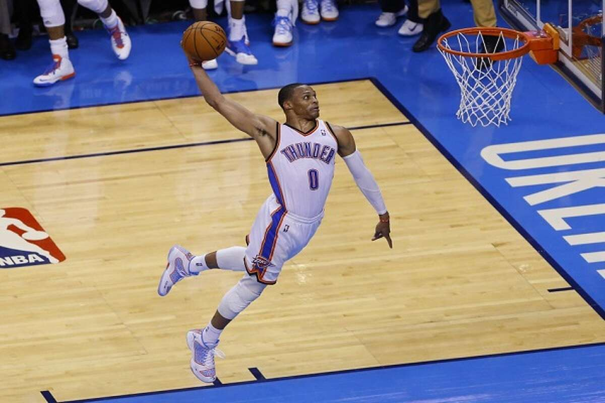 Oklahoma City (40-30), 8:30 p.m. Wednesday: There is cursed, and then there is the 2014-15 Oklahoma City Thunder. Russell Westbrook, Serge Ibaka and Kevin Durant have all missed significant time, with the latter potentially out for the season with continued complications after breaking his right foot. And still the Thunder are on pace to make the playoffs, thanks in no small part to the brilliant play of Westbrook: 27.5 points, 7.3 rebounds, 8.7 assists and 2.2 steals with 10 triple-doubles.