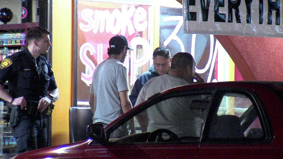 San Antonio Police are searching for two men who robbed two Northwest Side businesses Sunday night. Photo: 21 Pro Video