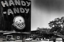 Handy Andy store at N. New Braunfels and Nacodoches Rd. in a Sept. 8 , 1988 file photo.