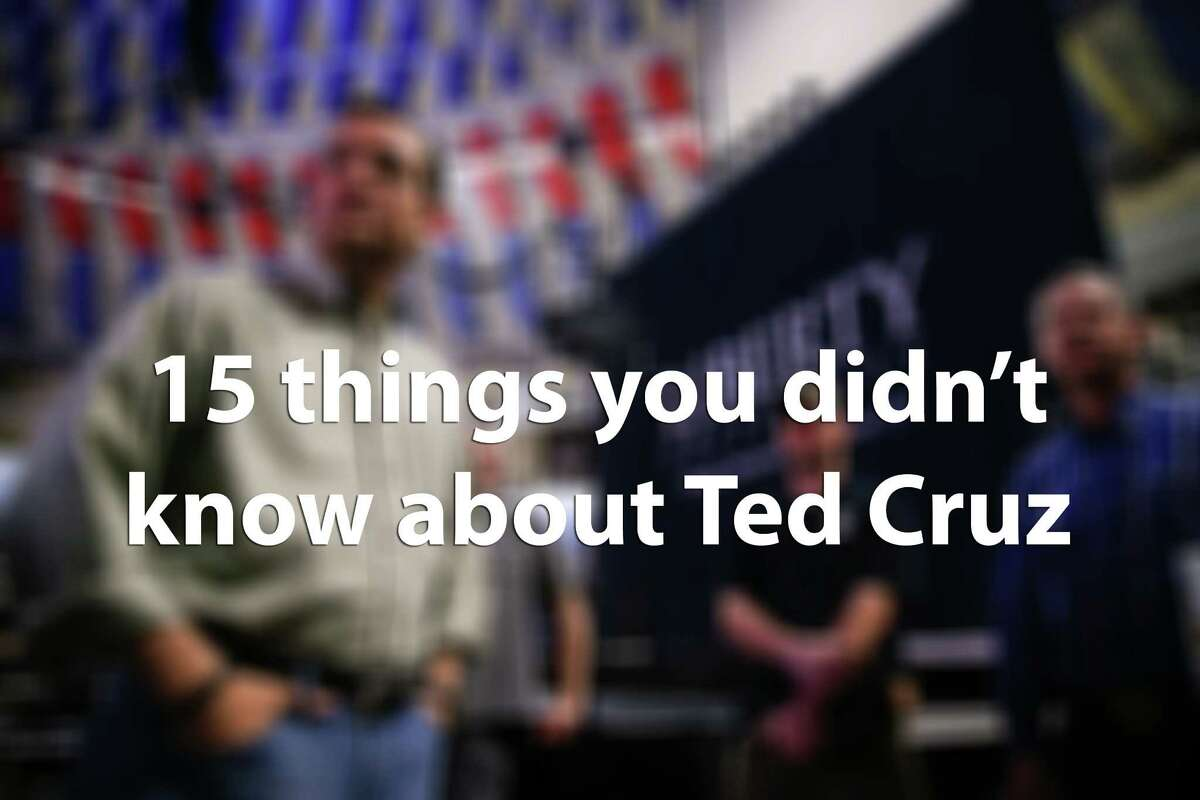 Sen. Ted Cruz, R-Texas, has announced his run for the White House, but how well do you really know this naturalized Houstonian? Click through to learn some well-known to not-well-known facts about our possible future president.
