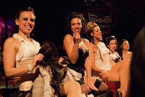 Acrobatics and corsetry at The Soiled Dove - Photo