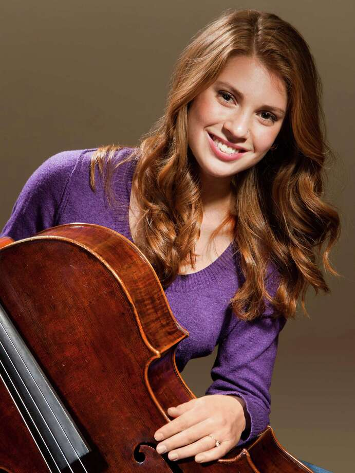 Cellist Cicely Parnas will perform April 4 at the Pequot Library. Photo: Contributed Photo / Fairfield Citizen