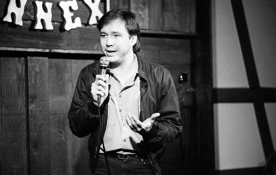 Dec. 1984: Houston stand-up comic Bill Hicks at the Comix Annex, once located at 2105 San Felipe. Photo: Tim Bullard, © Houston Chronicle / Houston Chronicle