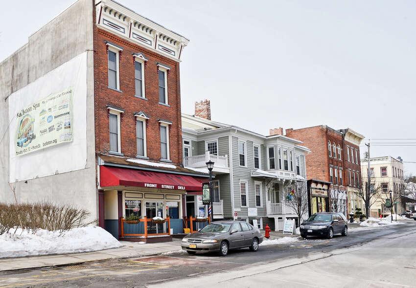 Front Street in Ballston Spa, N.Y. (John Carl D'Annibale/Times Union)