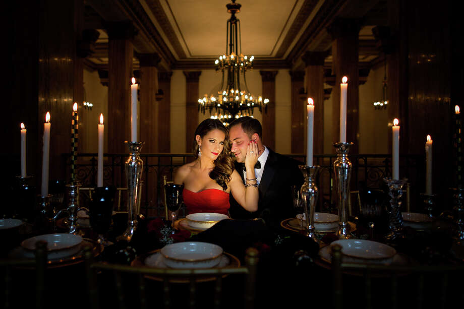 The dramatic lighting adds romance to this photo. This was taken at 90 State in Downtown Albany. Photo: Matt Ramos Photography / www.mattramosphotography.com