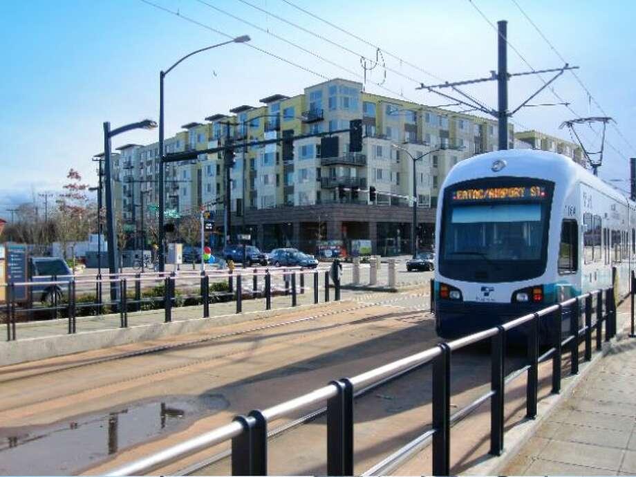 File photo of Seattle light rail. Photo: Othello Partners