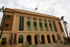 The Mob Museum is in a 1933 former federal courthouse and post office that's been restored.