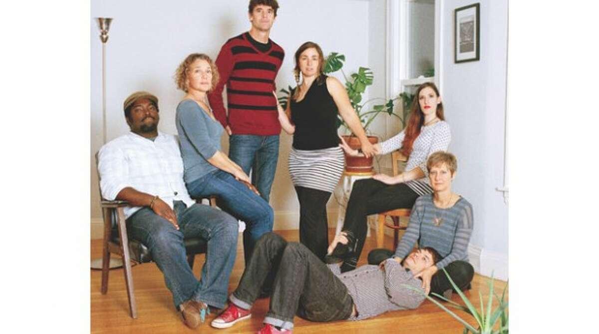 Clockwise from left: William Winters, Julie Barr, Joe Barr, Anna Hirsch, Shannyn DeBlaauw, Nini Banks, and James Starke.