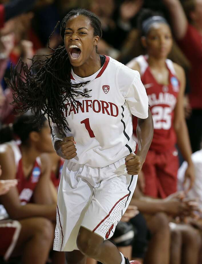 Lili Thompson led Stanford in scoring last season as the Cardinal went to the Sweet 16 of the NCAA Tournament. Photo: Marcio Jose Sanchez, Associated Press