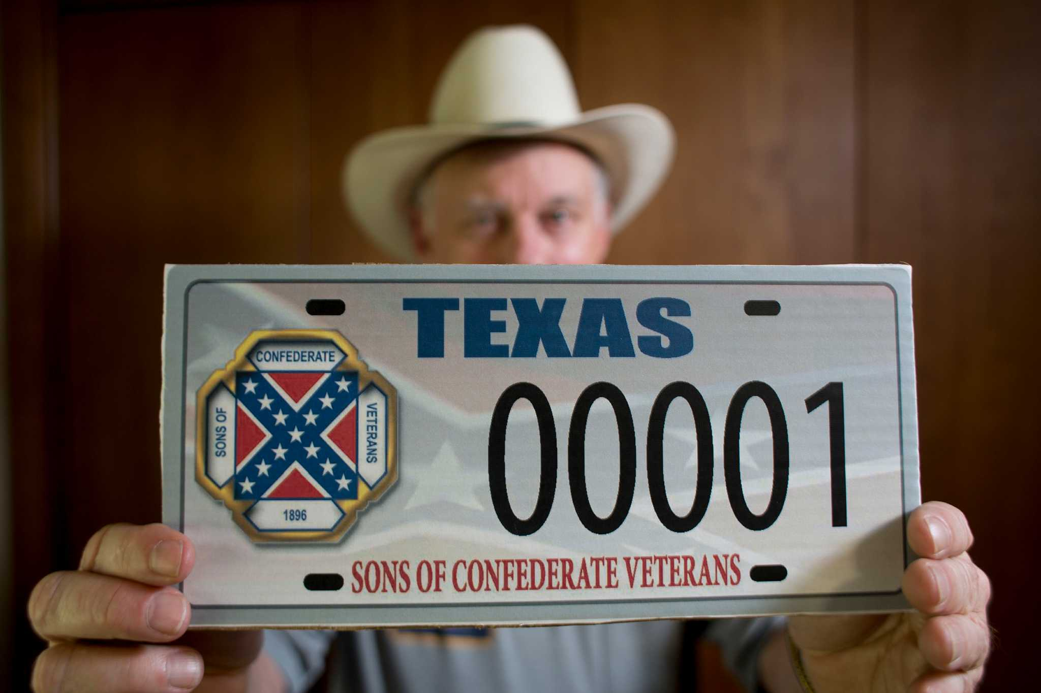 Justices wrestle with Texas Confederate-flag license-plate case ...