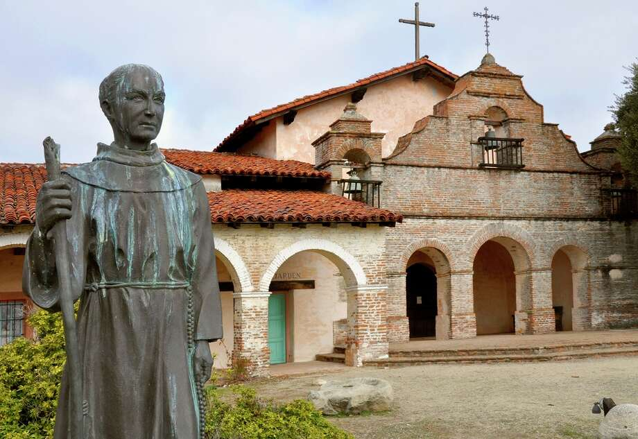 Mission San Antonio de Padua, in Monterey County, is one of the most remote of the California missions. Photo: Christine Delsol / Special To The Chronicle / ONLINE_YES