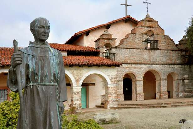 Mission San Antonio de Padua, in Monterey County, is one of the most remote of the California missions.
