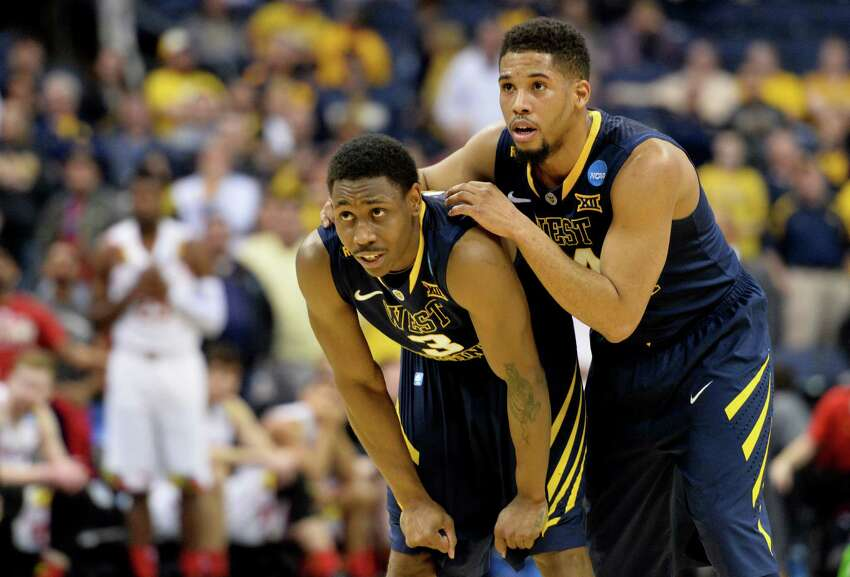 14. West Virginia Mascot: Mountaineers Location: Morgantown, W.V. Conference: Big 12 Region & seed: Midwest, No. 5 Sweet 16s: 9 Elite 8s: 3 Final Fours: 2 National championships: 0 Notable alumni: Don Knotts, Patsy Ramsey. Championship odds: 100/1 Tournament recap: The Mountaineers are in the Sweet 16 for the third time in eight seasons under coach Bob Huggins, who takes pride in a brand of basketball that can be described as not aesthetically pleasing. West Virginia, which leads the nation in steals with 10.9 per game, relies on a balanced offensive effort, with senior guard Juwan Staten (14.5 points per game) and sophomore forward Devin Williams (11.5) the only players who average double-digits scoring.