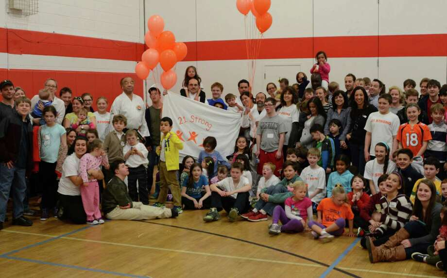 "The New Canaan YMCA will hold a ""World Down Syndrome Day,"" on March 29, from 2 to 4 p.m. Above is a photo from last year's event. Photo: Contributed Photo / New Canaan News"