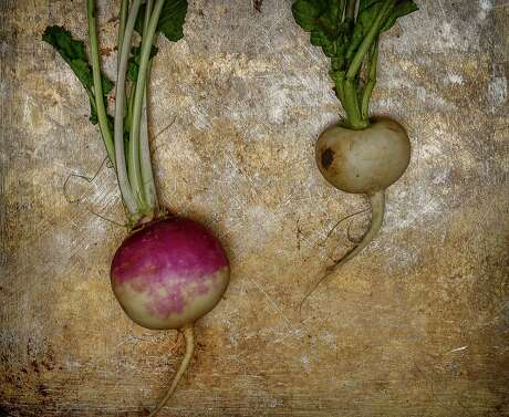Spring (Tokyo) turnips are seen on Monday, March 9, 2015 in San Francisco, Calif.