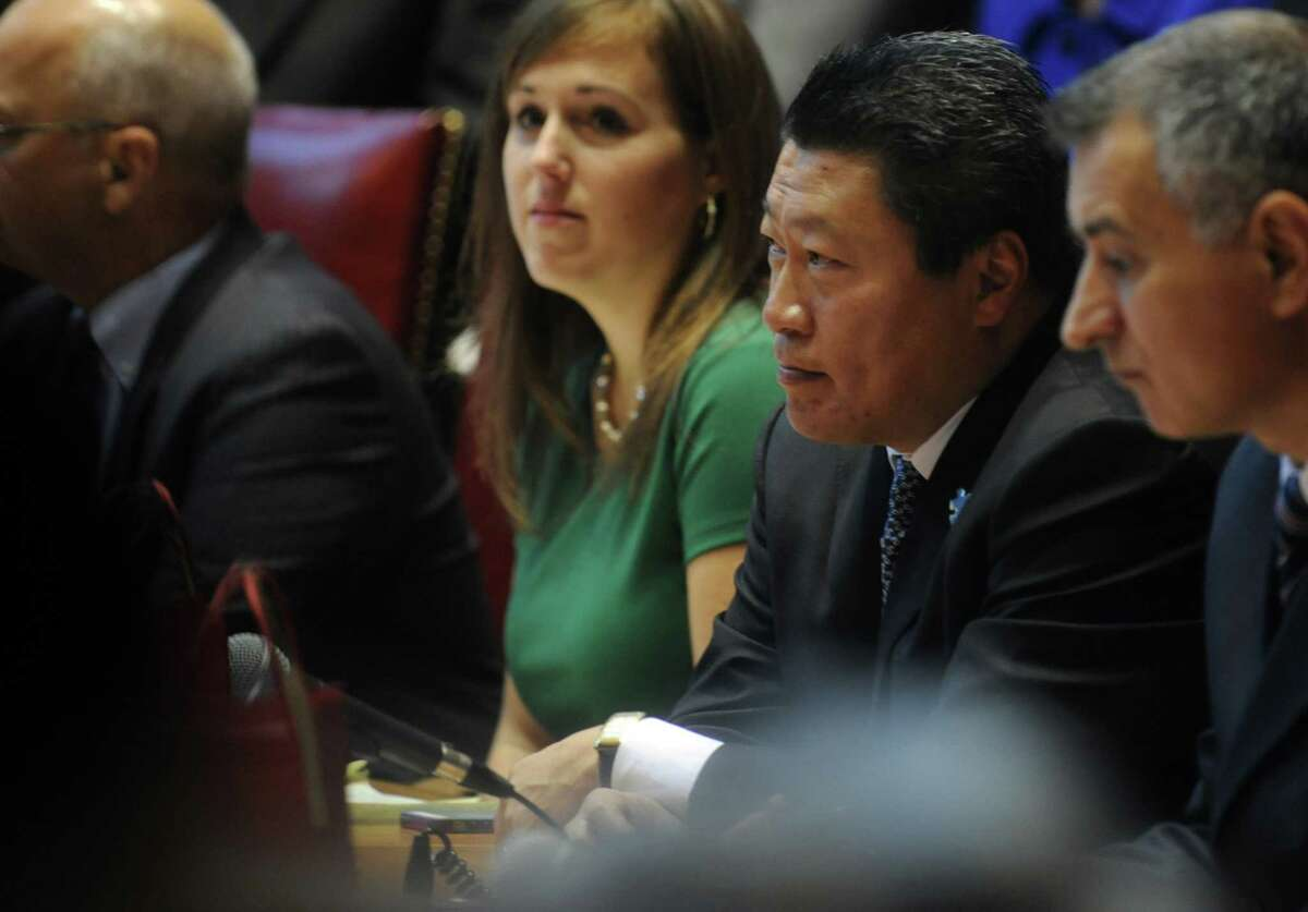"""State Sen. Tony Hwang, R-Fairfield, helped steer a proposal for an """"entrepreneur learner's permit"""" to unanimous approval in two committees of the Connecticut General Assembly, with the bill designed to free startups from some fees and paperwork."""