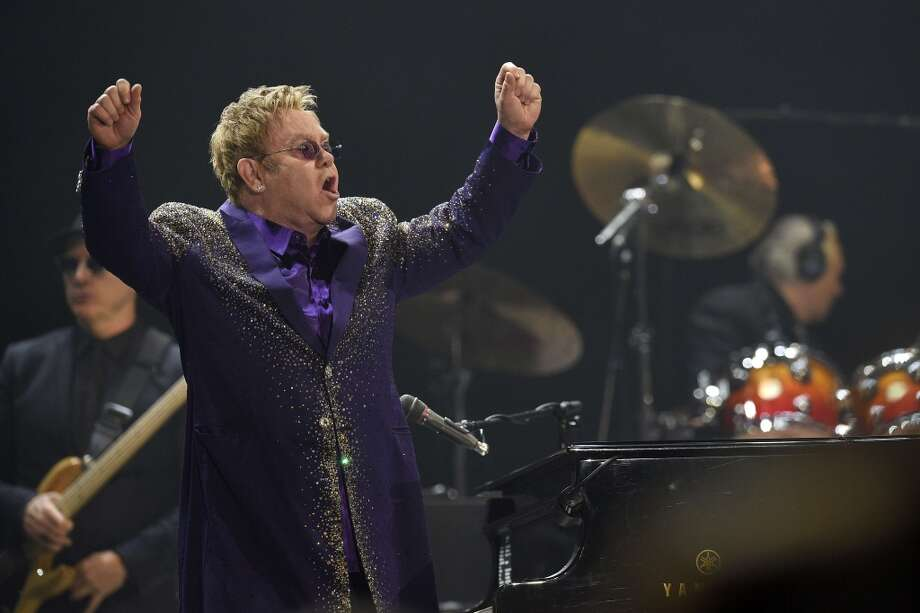 Elton John Photo: LLUIS GENE, AFP/Getty Images