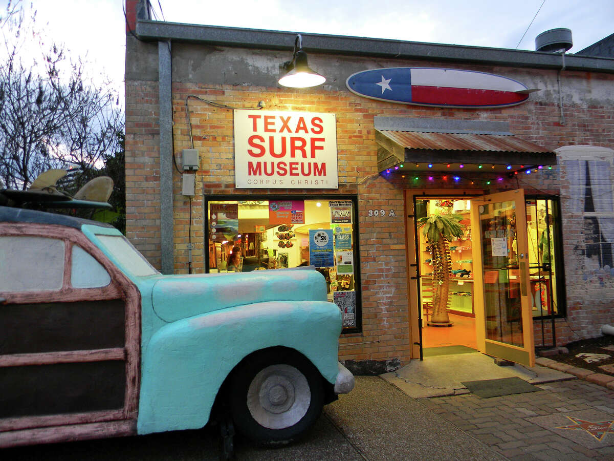 Texas Surf Museum at Corpus Christi 309 N. Water St. Open daily, times vary.
