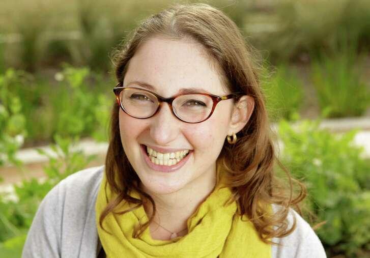 Daniella Lewis helped create an urban farm for the Harbach-Ripley Neighborhood Center.