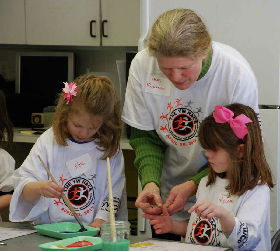 The YWCA Darien/Norwalk will hold April vacation arts and crafts workshop classes for children, ages 5 through 11 on April 13, 14 and 15. The classes, which will run from 9:30 a.m. to noon, will be led by art teacher Rowana Shepard, Photo: Contributed Photo / New Canaan News