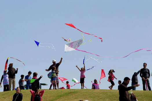 High-flying funSunday, March 29The skies over Hermann Park will be crowded when the park hosts its second Kite Festival. Families are invited to bring their kites and picnic baskets for a day that will include a magic show, swing dancers and musicians. Kites will be available for purchase. Stunt kites not allowed.When: 10 a.m.-5 p.m. Where: 1700 Hermann Park DriveTickets: FREEInformation: hermannpark.org Photo: Marie D. De Jesus, Staff / © 2014 Houston Chronicle