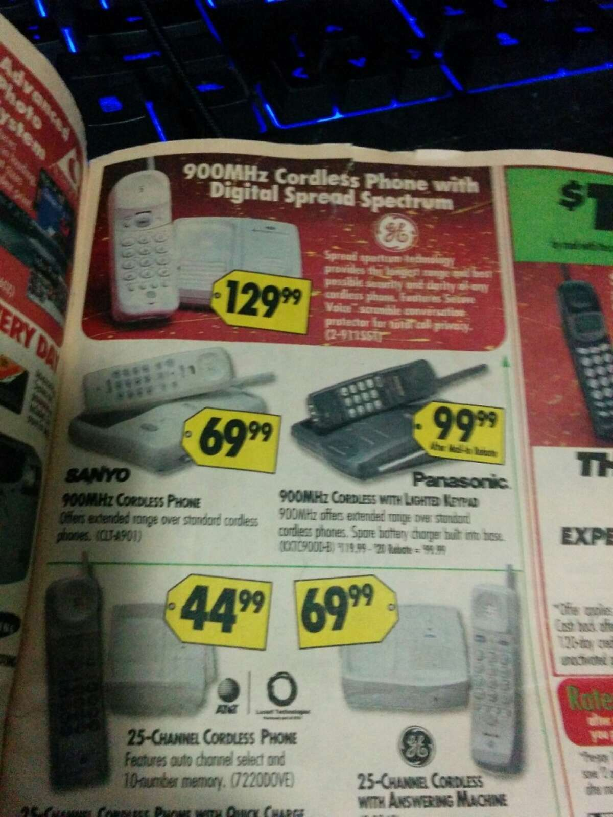 This Best Buy circular from 1998 shows just how ridiculously much technology has changed in terms of both capabilities and pricing since the late 1990s.