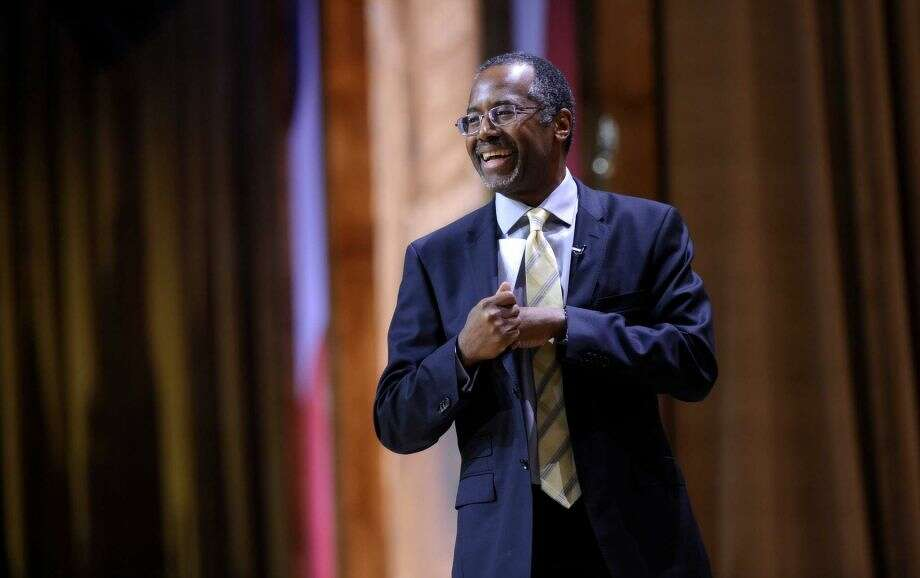 "Ben Carson:""Promotes academic intelligence more than athletic ability."" Photo: Susan Walsh, STF"
